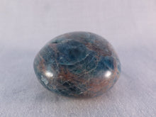 Madagascan Apatite Freeform Palm Stone - 46mm, 64g