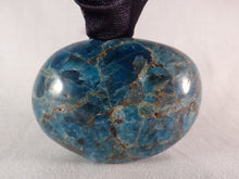 Large Madagascan Apatite Freeform Palm Stone - 64mm, 145g