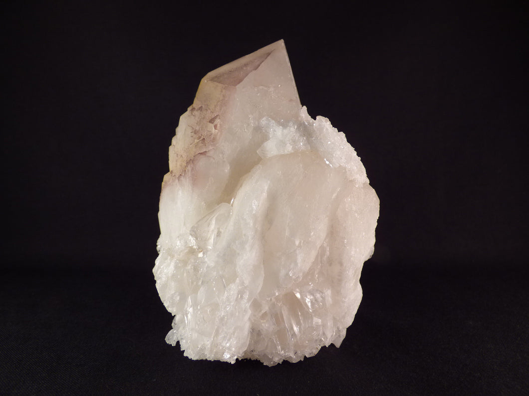 Large Natural Ansirabe Candle Quartz Freestanding Cluster - 120mm, 800g