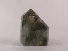 Actinolite Included Quartz Semi-Polished Standing Point - 41mm, 32g