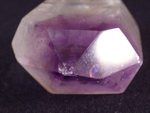 Madagascan Zoned Amethyst Quartz Polished Standing Crystal Point - 44mm, 43g