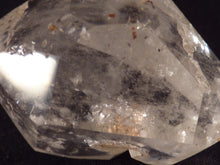 Clear Quartz with Hematite Polished Double Terminated Point - 45mm, 39g