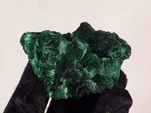Congo Silky Malachite Natural Specimen - 50mm, 23g