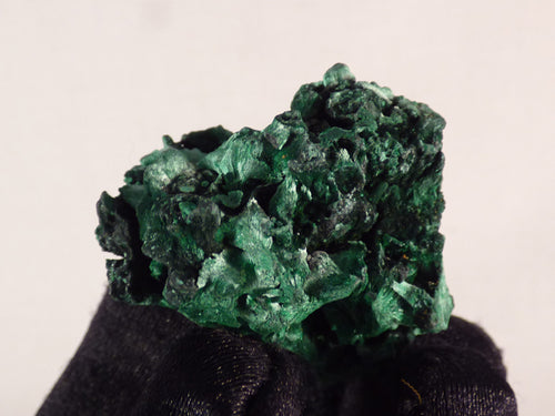 Congo Silky Malachite Natural Specimen - 38mm, 25g