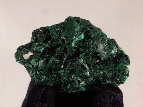 Congo Silky Malachite Natural Specimen - 58mm, 36g