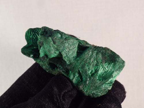 Congo Silky Malachite Natural Specimen - 51mm, 53g