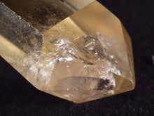 Small Madagascan Pale Citrine Polished Crystal Point - 46mm, 21g