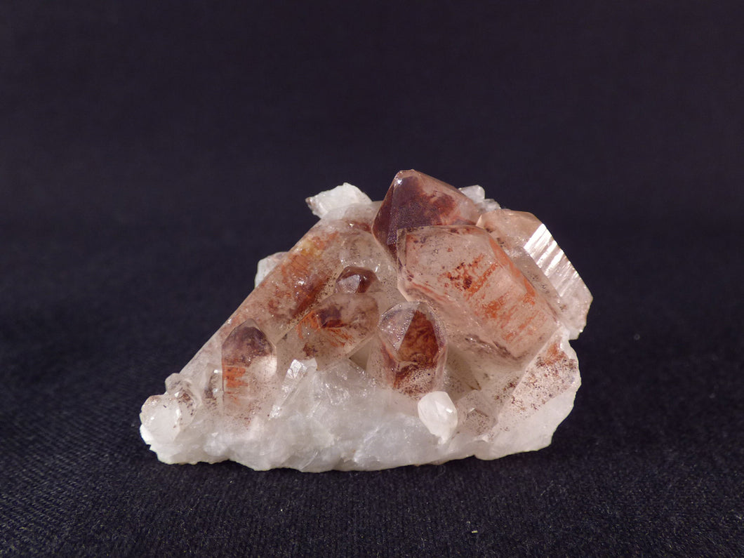 Orange River Hematoid Red Quartz Cluster Natural Specimen - 42mm, 19g