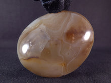Madagascan Agate Freeform Palm Stone - 66mm, 180g