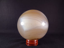 Madagascan Agate Sphere - 71mm, 492g