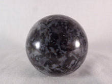 Madagascan Gabbro 'Merlinite' Polished Egg - 62mm, 222g
