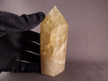 Zambian Citrine Polished Standing Crystal Point - 108mm, 292g