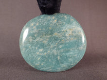 Madagascan Amazonite Freeform Palm Stone - 67mm, 141g