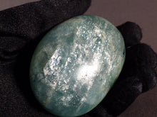 Madagascan Amazonite Freeform Palm Stone - 72mm, 153g