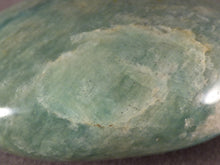 Madagascan Amazonite Freeform Palm Stone - 68mm, 167g