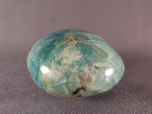 Madagascan Amazonite Freeform Palm Stone - 71mm, 169g