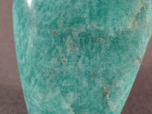 Small Madagascan Amazonite Standing Display Freeform - 100mm, 153g