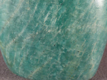 Small Madagascan Amazonite Standing Display Freeform - 82mm, 195g