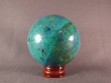 Congo Chrysocolla Sphere - 67mm, 310g