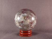 Madagascan Eudialyte Sphere - 52mm, 191g