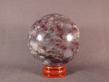 Madagascan Eudialyte Sphere - 62mm, 323g