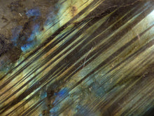 Labradorite Freeform Palm Stone - 65mm, 96g