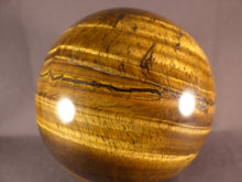 Large Golden Tiger's Eye Sphere - 87mm, 966g