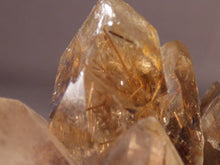 Natural Lwena Rutilated Smoky Asylum Quartz Cluster - 78mm, 180g
