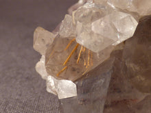 Natural Lwena Rutilated Smoky Asylum Quartz Cluster - 75mm, 231g