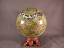 Large Madagascan Chrysophrase Sphere - 97mm, 1260g