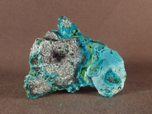 Natural Congo Chrysocolla and Malachite 'Malacolla' Specimen - 49mm, 57g