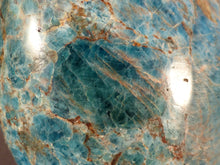 Large Madagascan Apatite Standing Display Freeform - 143mm, 1456g