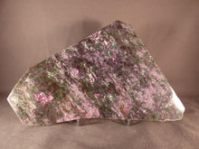 Rare Madagascan Ruby in Fuchsite Polished Display Plate - 178mm, 840g