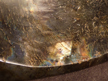 Polished Labradorite 'Spectrolite' Bowl - 141mm, 973g