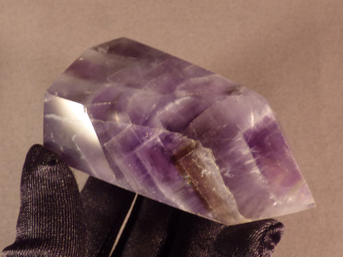 Zambian Dogtooth Amethyst Double Terminated Crystal Point - 81mm, 167g