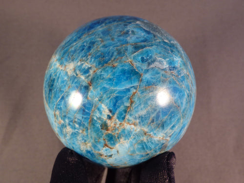 Madagascan Apatite Sphere - 70mm, 568g