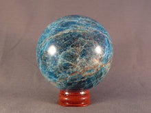 Madagascan Apatite Sphere - 69mm, 538g