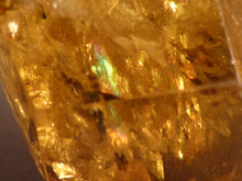 Zambian Rainbow Golden Citrine Polished Double Terminated Crystal Point - 124mm, 374g