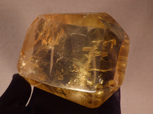 Zambian Golden Rainbow Citrine Polished Double Terminated Crystal - 115mm, 362g