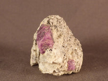 Madagascan Ruby in Quartzite Natural Specimen - 45mm, 49g