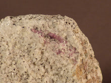 Madagascan Ruby in Quartzite Natural Specimen - 54mm, 124g