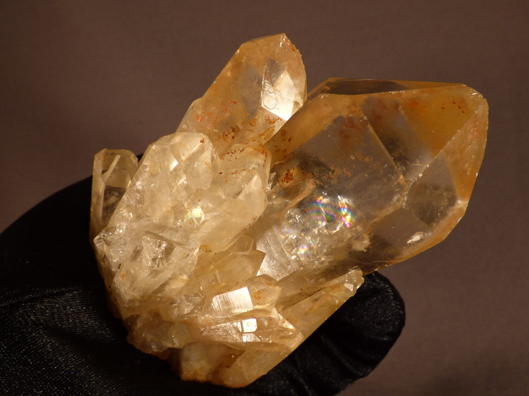 Natural Congo Citrine Crystal Cluster - 94mm, 322g