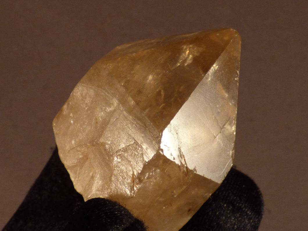 Natural Congo Citrine Crystal Point - 44mm, 62g