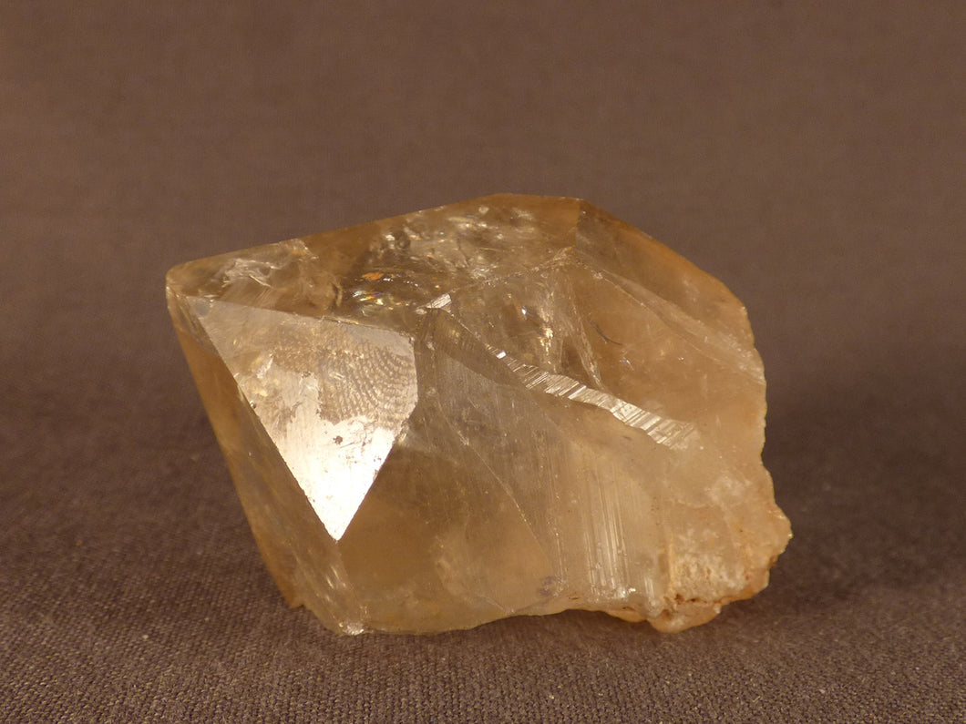 Natural Congo Citrine Crystal Point - 46mm, 57g