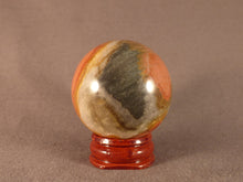 Polychrome Jasper Sphere - 45mm, 115g