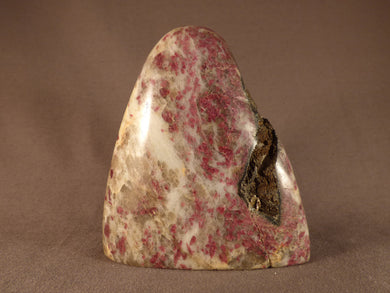 Madagascan Eudialyte Standing Display Freeform - 95mm, 644g