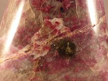 Madagascan Eudialyte Standing Display Freeform - 89mm, 413g