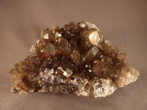 Large Natural Red Hematoid Asylum Quartz Cluster - 140mm, 1225g