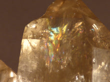 Natural Congo Rainbow Citrine Crystal Point - 86mm, 88g