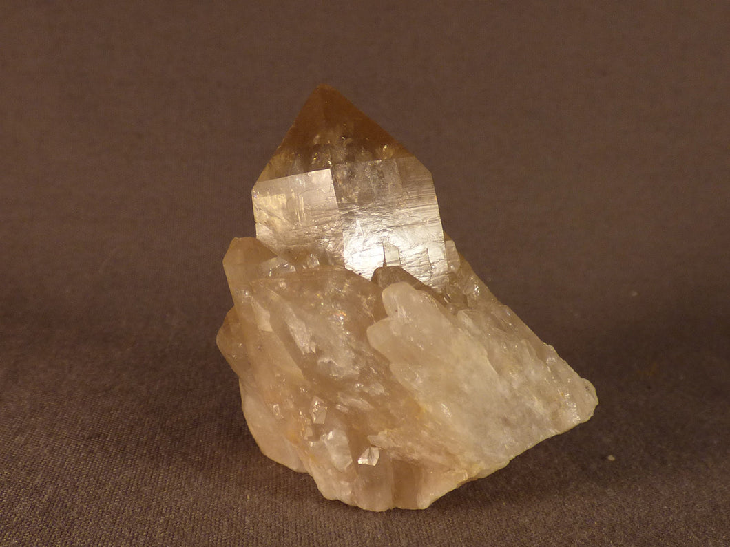 Natural Congo Citrine Cluster - 48mm, 68g